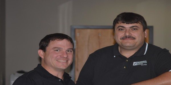 Russell Construction Services' Project Manager Todd and Director of PreConstruction Services Craig