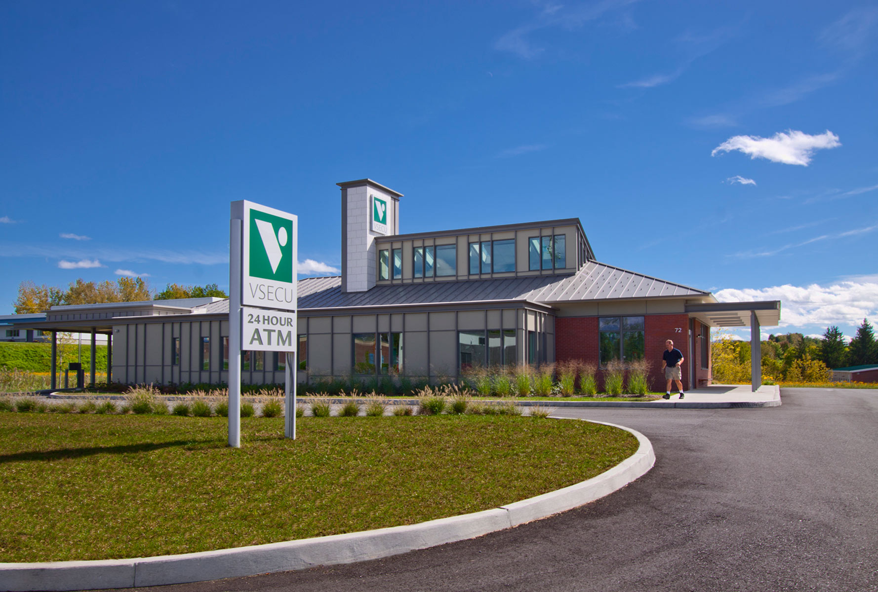 LEED Certified VSECU by Russell Construction Services