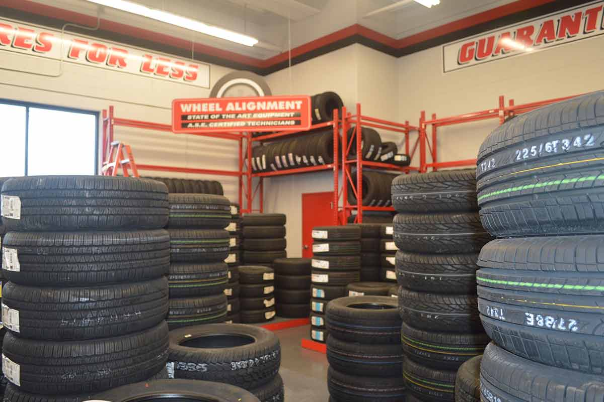 Town Fair Tire Russell Construction Services